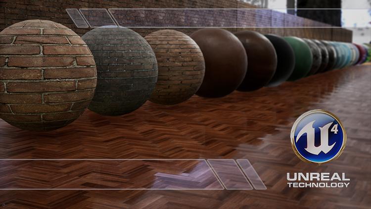 Curso Online de Unreal Engine 4.23: Criando Materiais Realistas do Básico ao Avançado