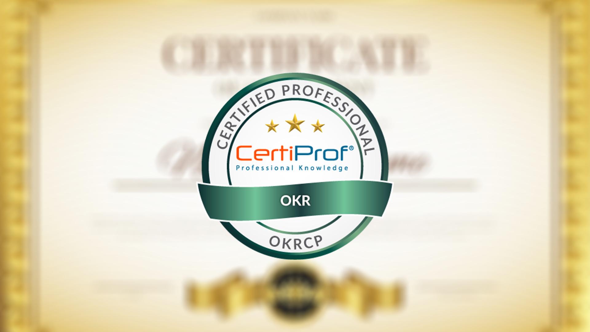 Curso Online Preparatório OKRCP CertiProf