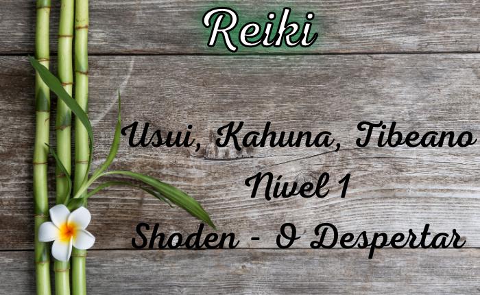 Curso de Reiki Usui, Kahuna, Tibetano – Nível 1