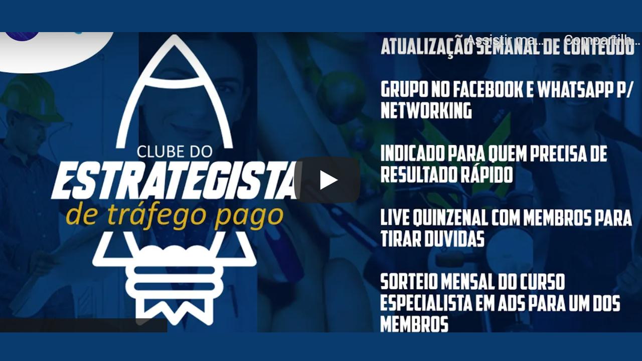 Estratégias de Tráfego Pago (Google Ads e Facebook Ads)