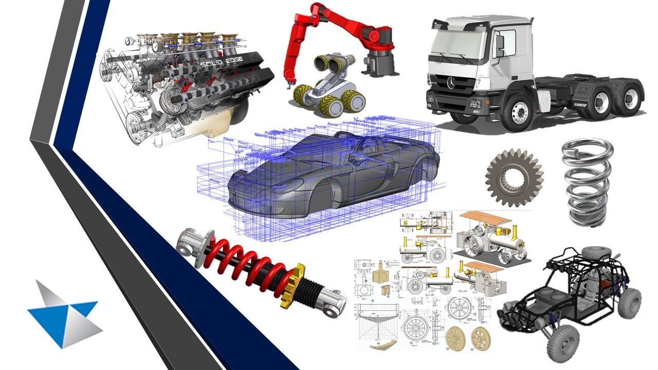 Curso Curso de Solid Edge Siemens ST10: do Básico ao Intermediário