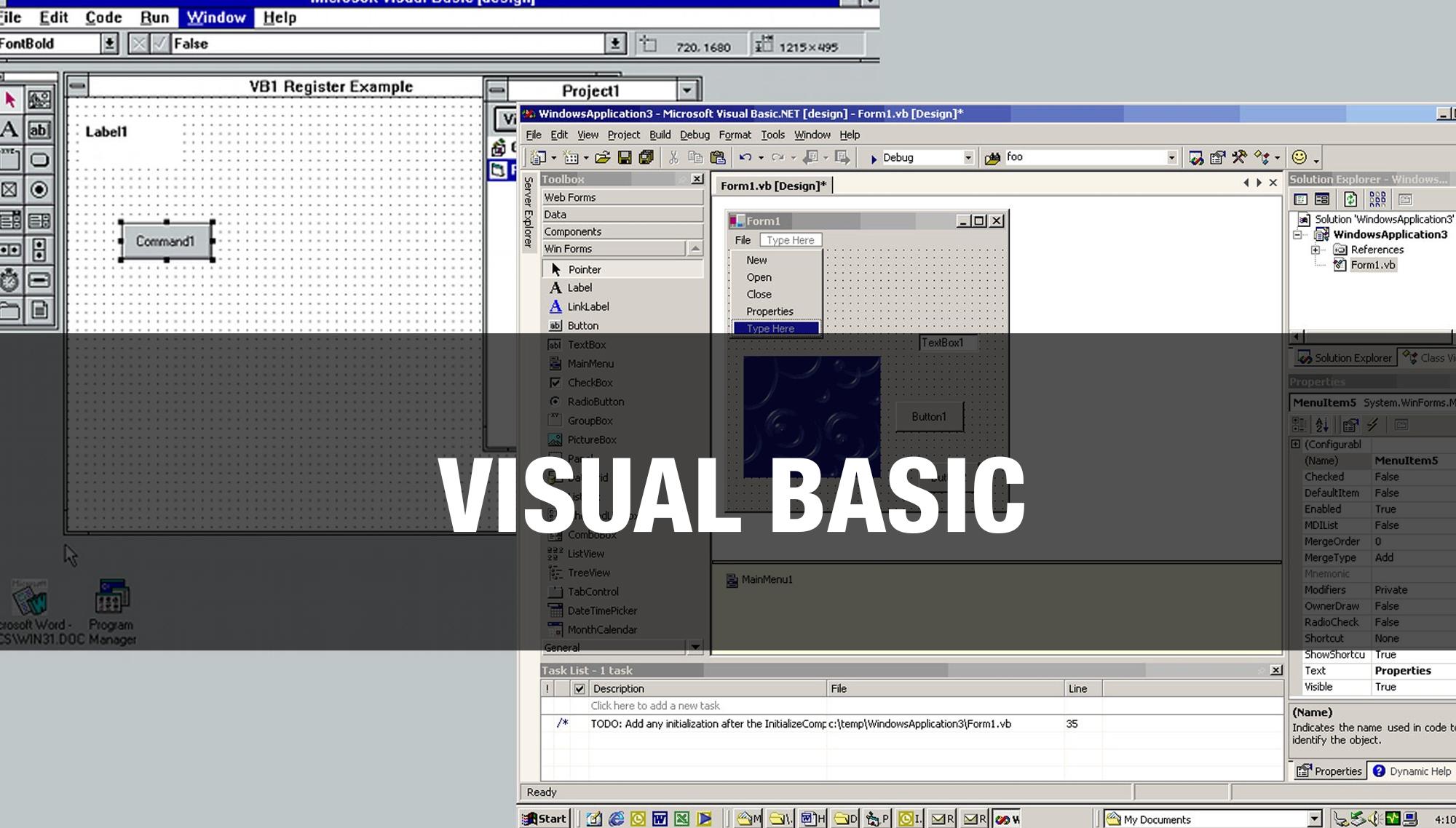 Curso de Visual Basic 2017