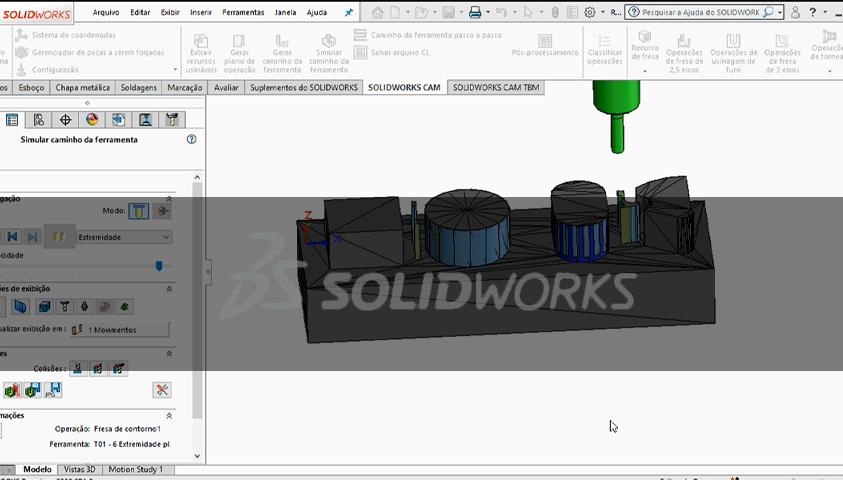 Curso de SolidWorks CAM