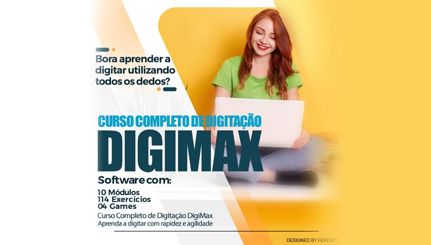 Curso Completo de Digitação: DigiMax 2.0